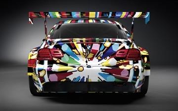 Colorful BMW Mac wallpaper