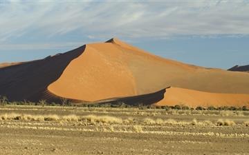 Sand Dunes Sossusvlei Mac wallpaper