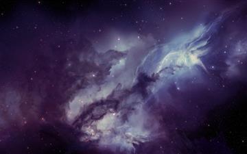 Nebula Mac wallpaper