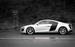 Audi R8 At Speed Mac wallpaper