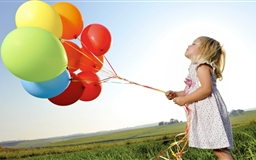 Colorful Balloons Mac wallpaper