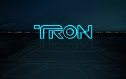 Tron Logo Mac wallpaper