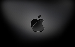 Aapple Black Background