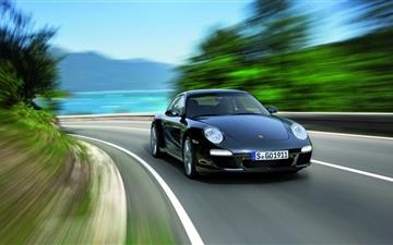 2011 Black Porsche 911 Black Edition Mac wallpaper