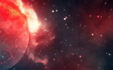 Space World Disaster Mac wallpaper
