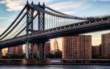 Manhattan Bridge Mac wallpaper