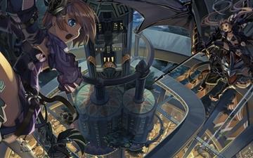 Anime Architecture Mac wallpaper