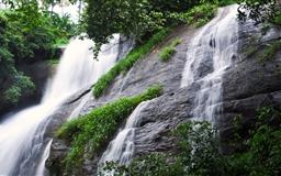 Areekkal Waterfall Mac wallpaper