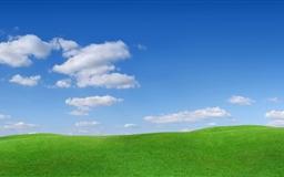 Green Hills Scenery Mac wallpaper
