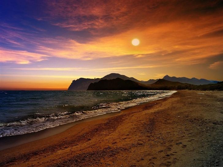 Crimea Beach Mac Wallpaper