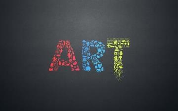 Define Art Mac wallpaper