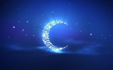 Holy Ramadan Moon Mac wallpaper