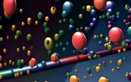 Happy Colorful Balls Mac wallpaper