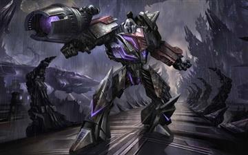 Transformers The Game Megatron Mac wallpaper