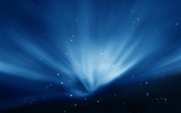 Apple Sky Blue Aurora Mac wallpaper