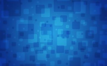 Blue Squares Mac wallpaper