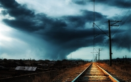 Armenia Gyumri Storm