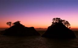 Calm Sunset Mac wallpaper