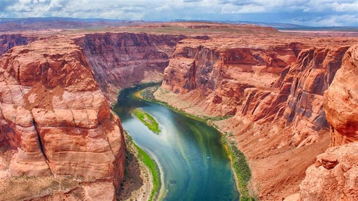 Horseshoe Bend Arizona Mac Wallpaper