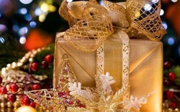 Christmas Gift Box Mac wallpaper
