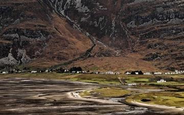 Torridon Village Scotland United Kingdom Mac wallpaper