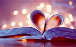 Heart Book Mac wallpaper