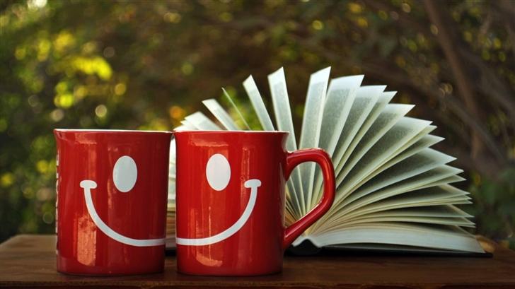 Smile Cup Mac Wallpaper