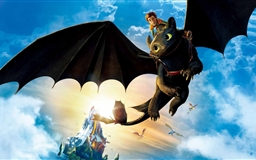 Hiccup And Toothless Mac wallpaper
