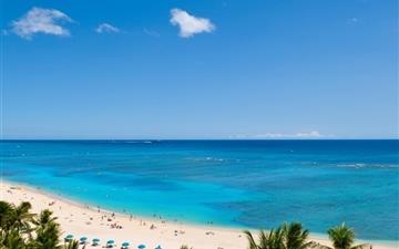 Waikiki Beach And Pacific Ocean Mac wallpaper