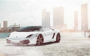 Lamborghini Gallardo Supercar Mac wallpaper
