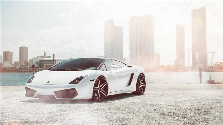 Lamborghini Gallardo Supercar Mac Wallpaper