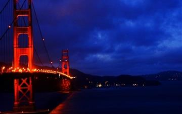Golden Gate Bridge 3 Mac wallpaper