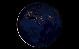 Black Marble Africa Europe