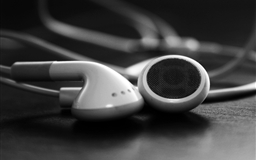 Ipod headphone Mac wallpaper