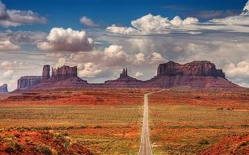 Spectacular Desert Landscape Mac wallpaper