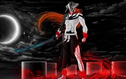 Ichigo Vasto Lorde Bleach Mac wallpaper