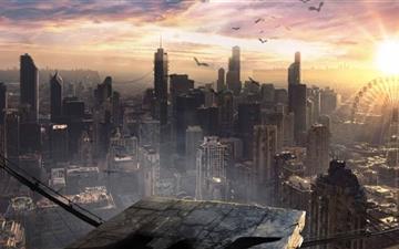 Divergent Movie Mac wallpaper