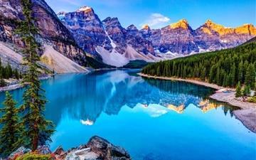 The Lake Mirror Mac wallpaper