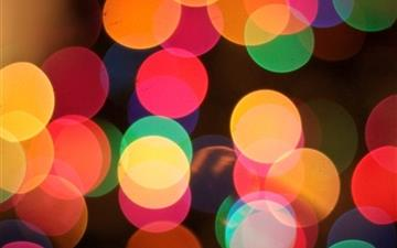 The First Bokeh Of Christmas Mac wallpaper