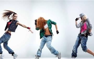 The Dancers Mac wallpaper