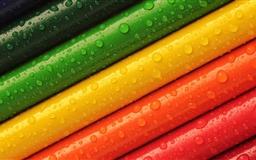 Rainbow Colored Pencils Mac wallpaper