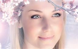 Spring Girl Mac wallpaper