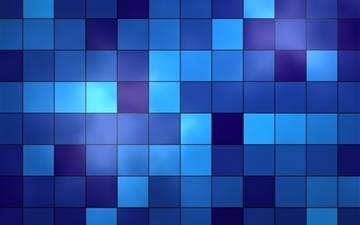 Blue Tiles Mac wallpaper