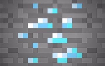 Minecraft diamonds Mac wallpaper