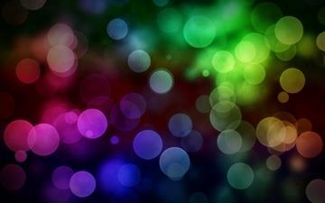 Color bokeh Mac wallpaper