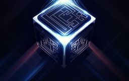 3D Cube Maze Mac wallpaper