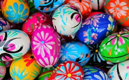Polish Pisanki Easter Eggs Mac wallpaper