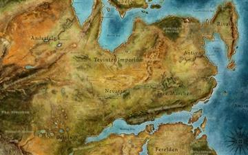 Dragon Age Map Mac wallpaper