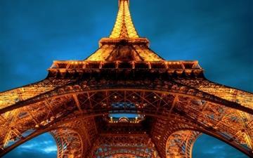La Tour Eiffel Mac wallpaper