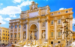 Trevi Fountain Mac wallpaper